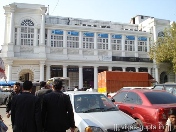 Connaught place, CP Delhi markets