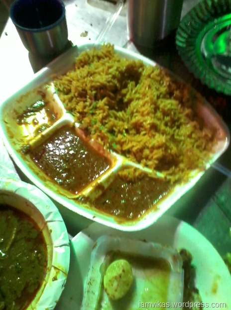bad mutton biryani